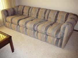 nice Vintage 7 foot sofa