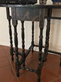 Antique Chinese Gate Leg Table