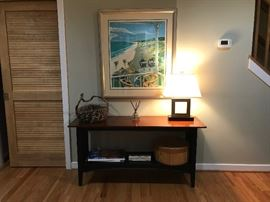 Ethan Allen Hall/Sofa Table