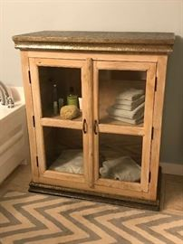 Pottery Barn Wine Rack (Used as Bathroom Cabinet)