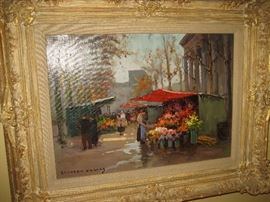 Edouard Cortes painting