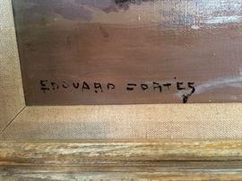Edouard Cortes signature