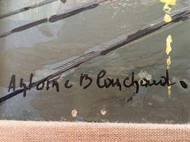 Antione Blanchard signature