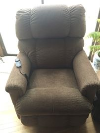 LAZBOY LIFT CHAIR, LESS THAN 1 YEAR OLD