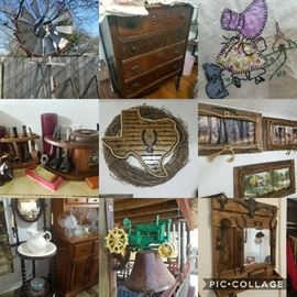 Great sale full of tools, Western items, and Barber supply!