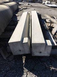 "2 54"" Precast Concrete Stones"