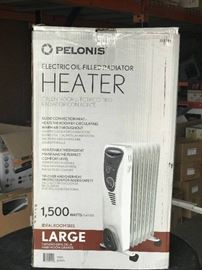 Pelonis electric oil-filled radiator heater - 1,50 ...