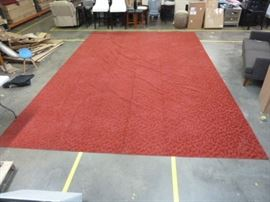 NEW 12' X 18' RED AREA RUG