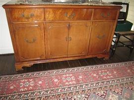 Maple sideboard, rug not in sale
