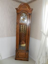 "Herman Miller ""Ashley"" electricgrandfather clock.  Others selling for $1700 and up.  Priced to sell at $995."