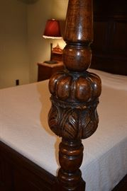 Canopy Bed Post Detail