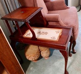 Nice Two-Tier Side Table / Telephone Table (Nice Smaller Size)