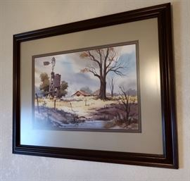 John Carter (Texas Artist) Framed Art
