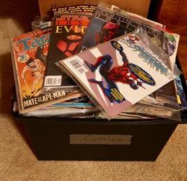 Tub FULL of Comics!!