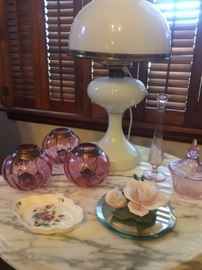 Just a small example of many trinkets housed in this huge estate sale!
