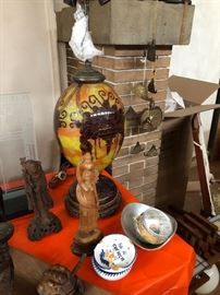 Artglass Vase/Lamp