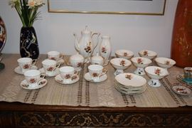 Jiesia Bone China Tea Set Lithuania
