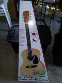 Guitar in Box