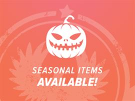Seasonal Items Available Halloween