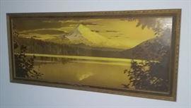 Goldtone 1920's print