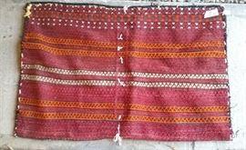 Persian wool saddle bag
