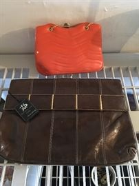 This is a gorgeous leather purse- with the original Italian tags still on it!