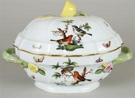 """Herend """"Rothschild Birds"""" tureen"""