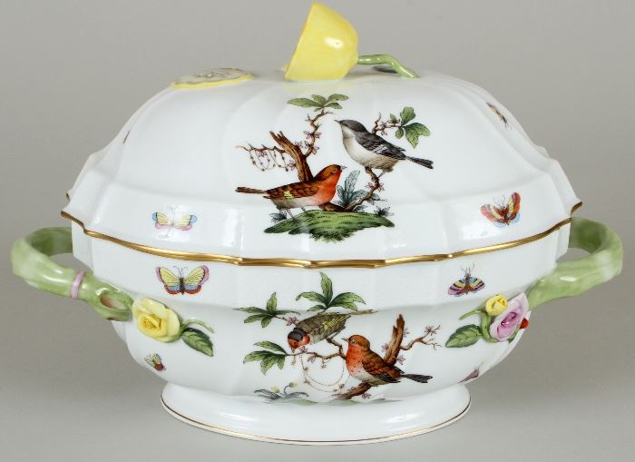 "Herend ""Rothschild Birds"" tureen"