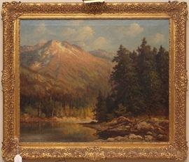 """The Tetons"", Robert William Wood"
