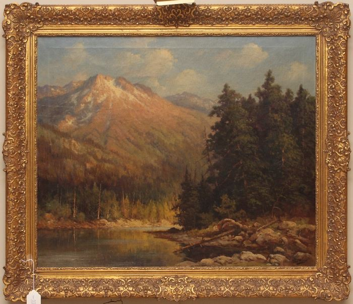 """The Tetons"", Robert William Wood"