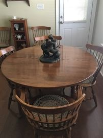 Small dinette table w/ chairs.