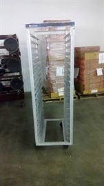 full size aluminum sheet pan rack