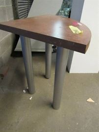 Small Table with Laminate Top and 3 Legs