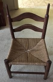 One of several children's chairs