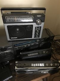 Some of the electronics