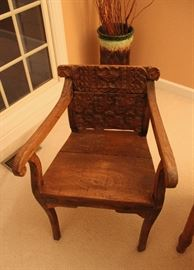 Antique Indian chairs