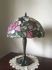 Stain glass lamp