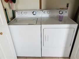 GE washer & dryer (electric)