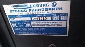 Seeburg Juke Box Serial Number