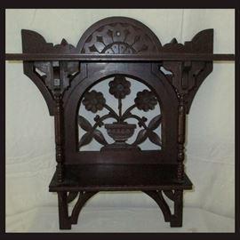 Small Antique Ornate Shelf