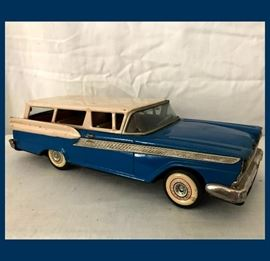 Vintage Toy Ford Station Wagon