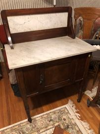 Victorian wash table
