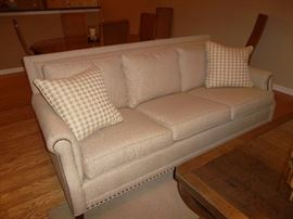 CR Laine nail head full size sofa MINT CONDITION!