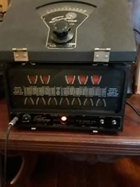 StroboConn piano tuner in good working order it appears. Dials work and strobe with sound. S/N 2667  Guessing from 1950s or 60s but cannot verify.