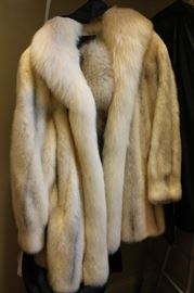 Gorgeous Christian Dior Fox Fur Coat I have the original receipt as well as the appraisal paperwork