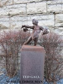 """""""Number Three Man"""" by Theodore Gall"""