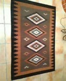 Native American Style Wool Rug