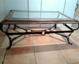 Rugged Western Style Coffee Table