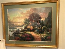 Thomas Kinkade picture, very large