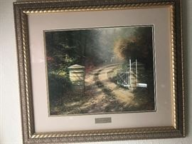 Thomas Kinkade Picture